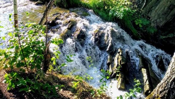 Маслихинский водопад